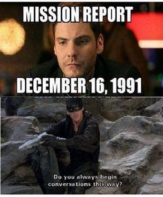Mission Report December 16, 1991.... Princess Bride/ Captain America Civil War