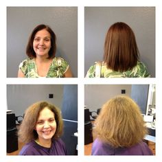 Before/After Keratin Complex Natural Smoothing Treatment Healthy Recipe Videos, Heart Healthy Recipes, Healthy Breakfast Recipes, Keratin Complex, Keratin Hair, Haircut And Color, Healthy Sides, Hair Cuts, Stylists