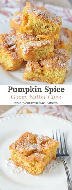 PUMPKIN SPICE GOOEY BUTTER CAKE | Food Around Me