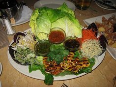 The Cheesecake Factory: Thai lettuce wraps by yummyinthetummyblog, via Flickr