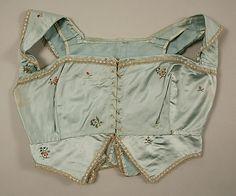 Girls Spencer, Late 18thc., European, Made of silk