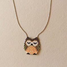 Items similar to Miyuki necklace on Etsy Seed Bead Art, Seed Bead Crafts, Seed Bead Jewelry, Bead Jewellery, Bead Loom Patterns, Beaded Jewelry Patterns, Beading Patterns, Motifs Perler, Bead Loom Bracelets