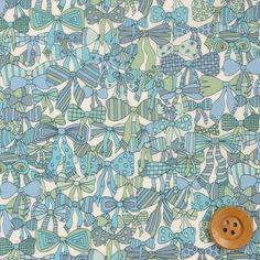 【サンドウオリジナルカラー】リバティプリント タナローン409(Jenny's Ribbons ジェニーズ・リボンズ) - リバティプリント・生地通販《ホビーショップサンドウ》