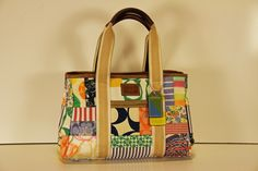 Coach - Multicolor Patchwork Tote You can find this item and more on www.handbagconsignmentshop.com