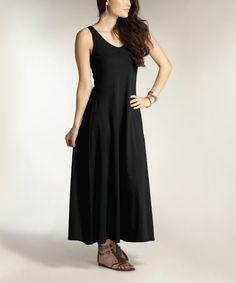 Loving this Indigenous Black EZ Sleeveless Dress on #zulily! #zulilyfinds