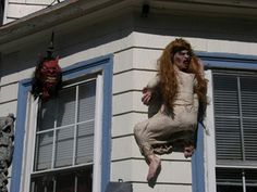 Image detail for -scary carrie climbing house