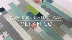 Susan Jablon Mosaics Veranico Glass Tile Design SKU 7051422 Have fun with your #home and shop #susanjablon glass #tile for the most #unique , #stunning , and one-of-a-kind tile #designs 😍  #design #designer #designideas #kitchen #kitchendesign #backsplash #decor #homedecor #homedesign #art #remodel #modern #chic #renovation #interior #interiordesign #interiorstyling #interior4all #interiordecor #interior123 #architecture #instagood #style