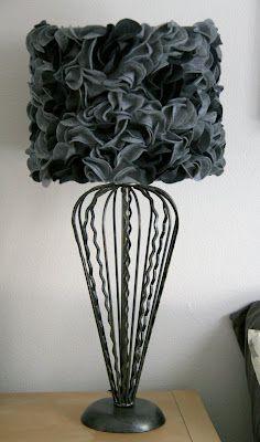 SwingNCocoa: Felt Lampshade DIY