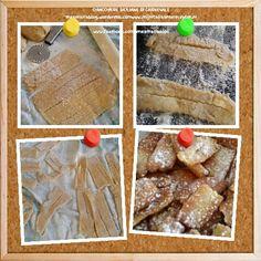 Chiacchiere siciliane di carnevale  Ricetta sul mio blog  enzamariablog.wordpress.com