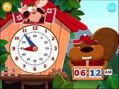 Tick Tack Zeit - Kompass und Uhrzeit Lern-App für Kinder