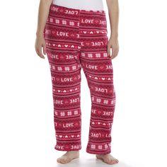 Kohl's SO Pajamas - Plush Fleece Pajama Pants - Juniors' Plus Size - On Sale for Only $8.80!