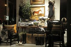 Ralph Lauren window. Hunt chic