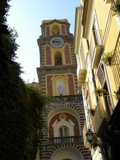 """Lovely: """"The #clock tower in Sorrento."""" #frifotos by @robinwsmith"""