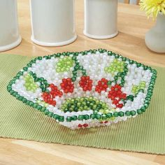 Sunrise Craft & Hobby™ Cherry Jubilee Fruit Dish Bubble Beads™ Beading Kit Was: $29.99                     Now: $20.99