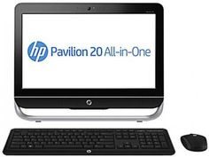 "Computador All In One HP Pavillion 20-b210br - Intel"" Core i3 4GB 500GB Windows 8 LED 20"