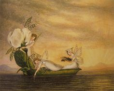 guinilde: Fairies Floating Downstream in a Peapod, Amelia Jane Murray (Lady Oswald)