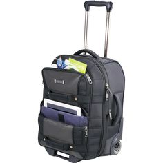 "New Kenneth Cole Tech Expandable 21"" Gray Wheeled Carry-On Luggage #KennethColeReaction #Backpack"