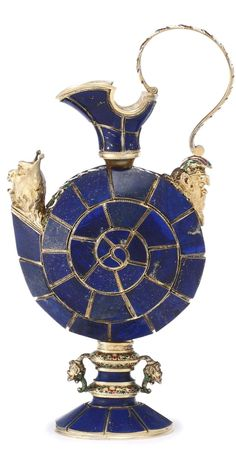 A Viennese silver-gilt, enamel and lapis lazuli ewer, probably Herman Ratzersdorfer, circa 1880 | Lot | Sotheby's