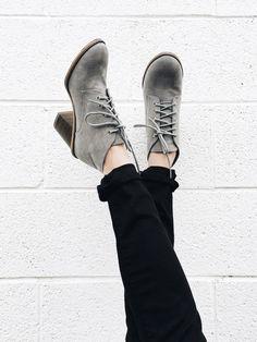 Grey Booties | ROOLEE
