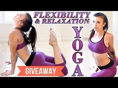 Beginners Yoga for Flexibility & Relaxation, Stress & Pain Relief, At Home Workout - YouTube