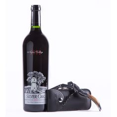 Silver Oak Napa Valley Cabernet & Corkscrew Gift Set - a classic wine with an extra added bling