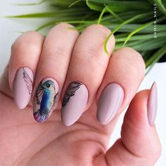 The almond shape is considered to be among sturdier nail shapes because its tip is not too pointy. And this shape is usually done on longer nails, thus creating the real canvas for various nail art. Now let's discover trendy and eye-pleasing nail designs that will work great for almond nails. #almondnails #almondshapednails #nailsdesign