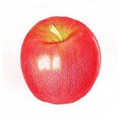 Apfel zeichnen lernen für Anfänger-dekoking-com-7