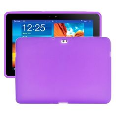 Soft Shell (Lilla) Samsung Galaxy Tab 10.1 P7500 Cover