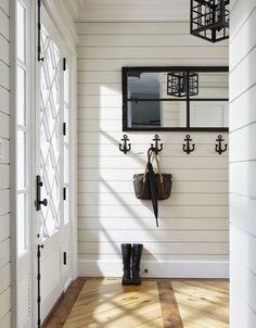Coastal Living Nautical decor seems to never fade from style! These hooks are a subtle way to make a statement!
