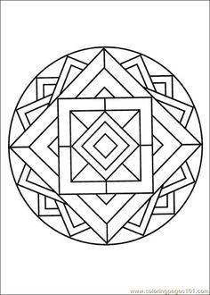 Mandalas 014 Coloring Page