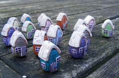 I love these beach huts by Pips Jewellery.  They are so cute.