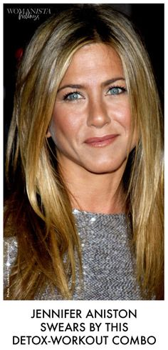 Jennifer Aniston Swears by this detox-workout combo for staying fit and healthy, as well as keeping naturally beautifully glowing skin