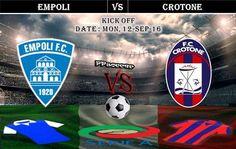Empoli vs Crotone 12.09.2016 Free Soccer Predictions, head to head, preview…