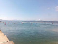 Tercer día de regatas del Mundial de Vela RS TERA que se celebra en las aguas de la bahía de Santoña.  #santoñaesanchoa #santoñateespera #turismosantoña