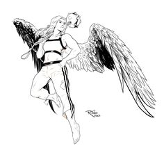 hawkgirl coloring pages | Coloring Page