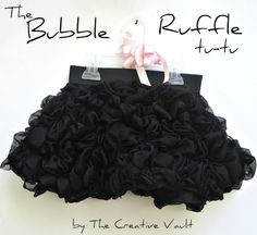 "Just about the most adorable little skirt EVER!  The ""Bubble Ruffle Tutu."""
