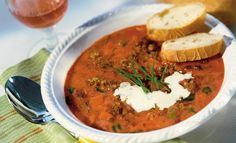 Hack-Tomaten-Suppe | Knorr