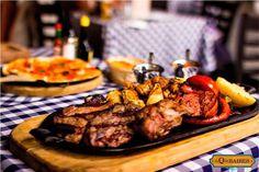 ¿Cuál de estos deliciosos platillos se te antoja más? #Carne #Pizza #Pasta #Ensalada #Vino #JugoDeCarne ven a disfrutar todas estas excelentes opciones al #Restaurante EL Q DE BAIRES