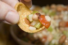 Cowboy Salsa    #Food #Appetizers #Dip #Salsa #Fritos