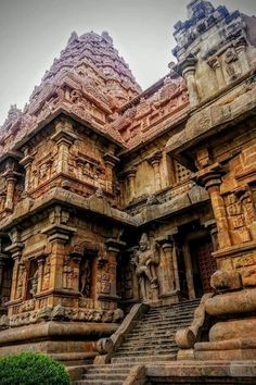 Gangaikonda chola puram Shiva Temple Indian Temple Architecture, India Architecture, Ancient Architecture, Beautiful Architecture, Temple India, Hindu Temple, Places To Travel, Places To See, History Of India