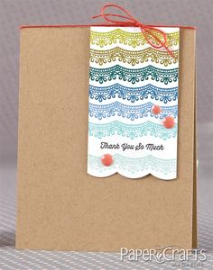 Cristina Kowalczyk - Paper Crafts Stamp It! Card Challenges