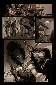 Preview: Graveyard Shift #1, Page 3 of 3 - Comic Book Resources