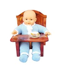 Check out this item in my Etsy shop https://www.etsy.com/listing/490898150/high-chair-for-dolls-dolls-furniture