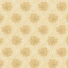 Ivory & Beige Scrolling Floral, Blender, Accent, Elementary Collection,  Studio E (By Half Yard)
