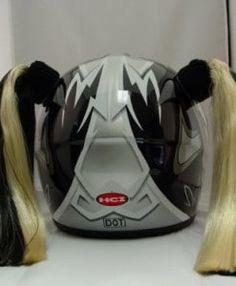Helmet Accessories Biker Girl Bling Womens Motorcycle Gear - Motorcycle helmet decals for women