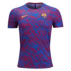 Nike Barcelona Pre-Match Training Jersey - WorldSoccershop.com | WORLDSOCCERSHOP.COM