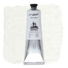 American Journey Artists' Acrylic, Tint White is a bright pure white and is ideal for lightening other colors. This white is excellent for covering and mixing while adding highlights to your artwork. Available in a 150 ml. tube. #ArtSupplies #AcrylicPainting #Acrylic