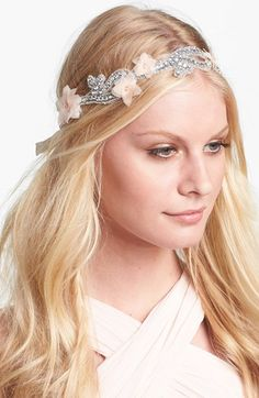 Serephine 'Emeline' Bridal Sash available at #Nordstrom
