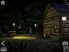 Image result for video game  cabin forest