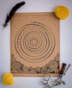 2014 Moon Calendar by HolySponge! on Etsy, $14.50.  Artist: Alma Reyes Evans, Winding Labyrinth Art.   https://www.etsy.com/listing/168988652/2014-moon-calendar?ref=af_shop_favitem